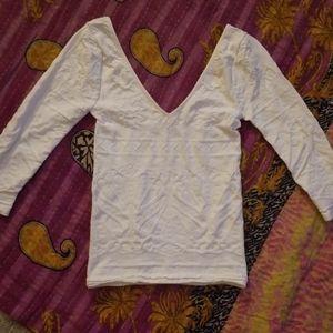 Bebe white top